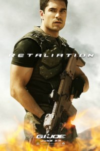 DJ Cotrona as Flint in GI Joe Retaliation
