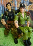 Flint and Lady Jaye figures