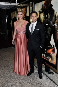 Gareth Cattermole/Getty ImagesAdrianne Palicki and D.J. Cotrona.