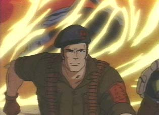 GI Joe cartoon Flint