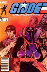 GI Joe comic book issue 23 Clutch and Roadblock capture Cobra Commander