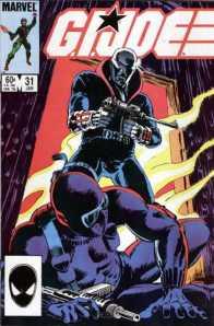 GI Joe comic book issue 31