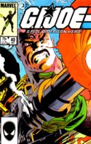 GI Joe comic issue 40 Roadblock cover