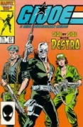 GI Joe comic issue 57 Flint, Destro and Lady Jaye