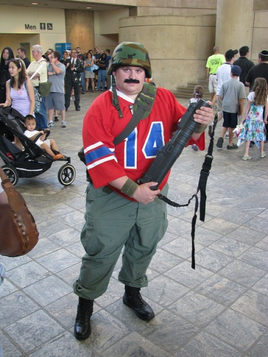GI Joe costume Bazooka