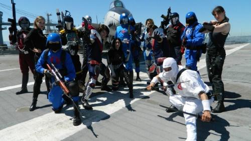 GI Joe costumes Cobra army