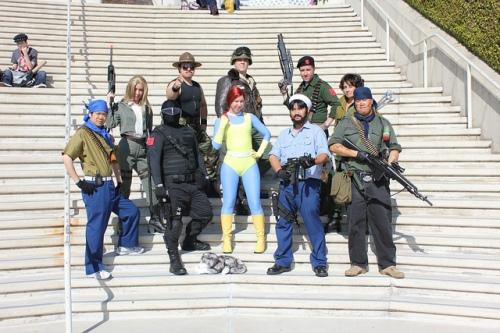 GI Joe costumes group shot