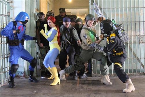 GI Joe costumes Joes vs BATS