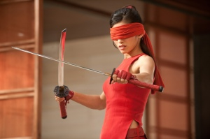GI Joe Retaliation Jinx blindfolded