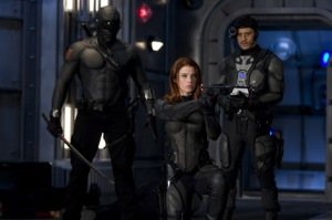 GI Joe Rise of Cobra Snake Eyes, Scarlett and Breaker