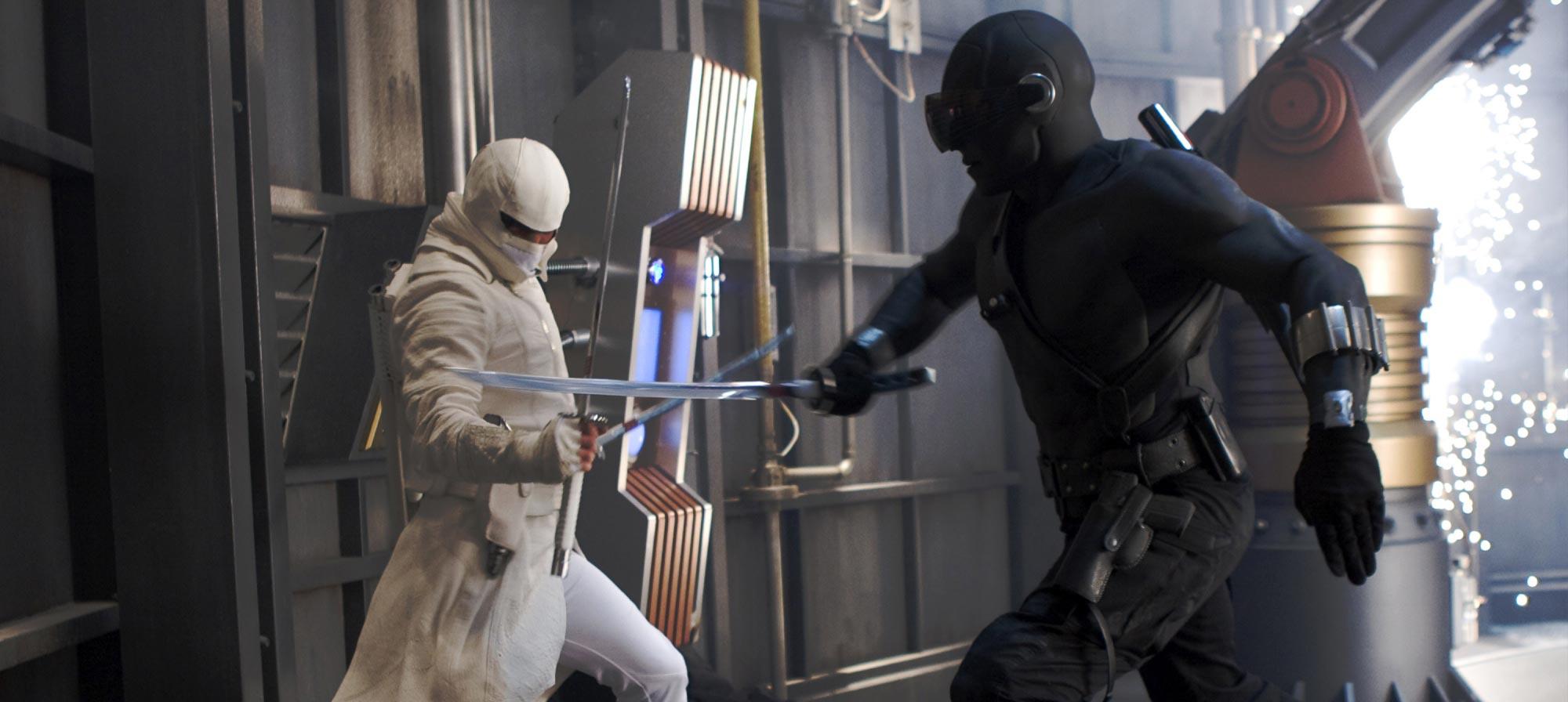 Gi Joe Retaliation Snake Eyes Vs Storm Shadow GI Joe Rise of Cobra Storm
