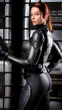 GI Joe - The Rise of Cobra Rachel Nicholas as Scarlett