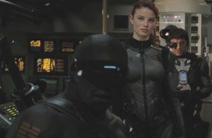GI Joe - The Rise of Cobra Snake Eyes, Scarlett and Breaker
