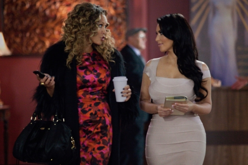 K.C. Bailey/Lionsgate PublicityJanice (Vanessa Williams) and Ava (Kim Kardashian).