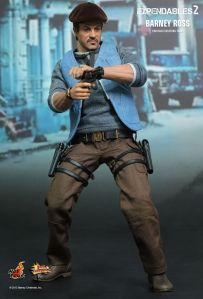 Hot Toys The Expendables 2 Barney Ross figure alternate outfit aiming