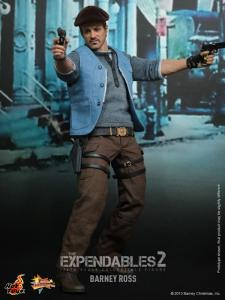 Hot Toys The Expendables 2 Barney Ross figure alternate outfit
