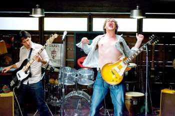 I Love You Man Paul Rudd and Jason Segel rocking out