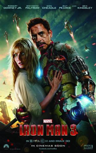 Iron Man 3 main poster Gwyneth Paltrow and Robert Downey Jr. as Tony Stark.jpg_cmyk