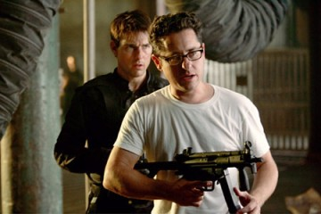 JJ Abrams with Tom Cruise for Mission Impossible 3
