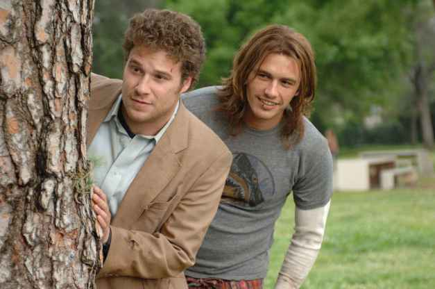 "Seth Rogen and James Franco star in Columbia Pictures' comedy""PINEAPPLE EXPRESS."""