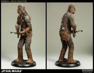 Sideshow Collectibles Chewbacca Star Wars premium format figure turnaround shot