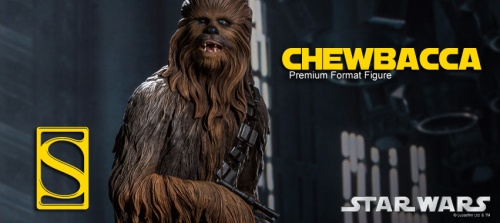 Sideshow Collectibles Chewbacca Star Wars premium format figure