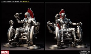Sideshow Collectibles Ultron on the throne side shots