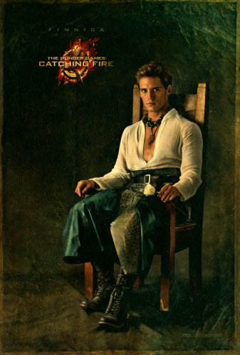 The Hunger Games Catching Fire Finnick portrait