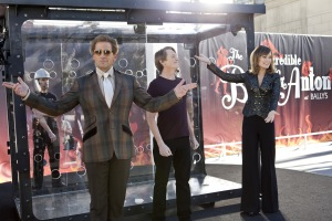 Ben Glass/Warner Bros. Pictures Burt Wonderstone (Steve Carell), Anton (Steve Buscemi) and Jane (Olivia Wilde) prepare for their big trick.