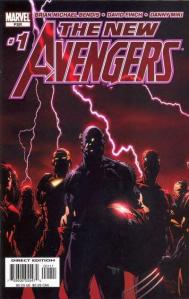 The New Avengers issue 1 free Marvel comic book