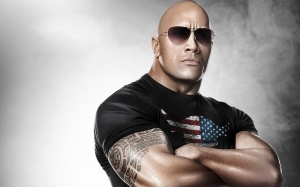 The Rock 2013 WWE Champion