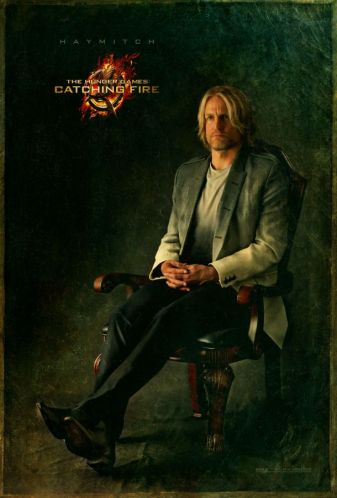Woody Harrelson as Haymitch Abernathy in The Hunger Games Catching Fire