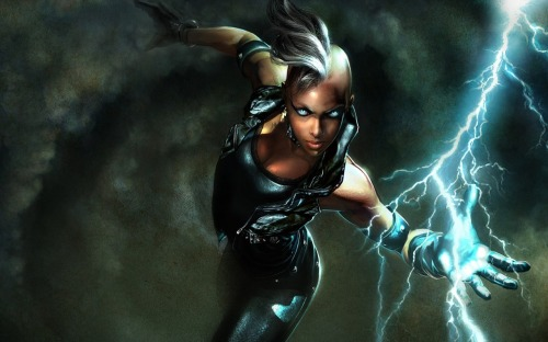 X-Men Storm with mohawk