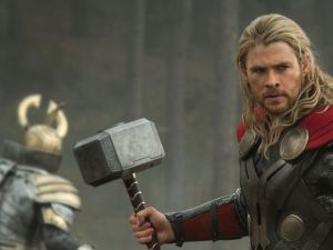Chris Hemsworth as Thor in Thor 2 - The Dark World