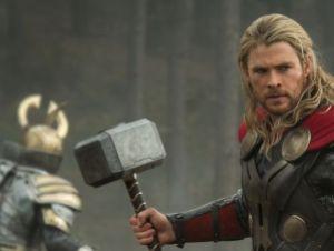 Chris Hemsworth as Thor in Thor 2 - The Dark World