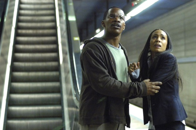 Collateral Jamie Foxx and Jada Pinkett Smith