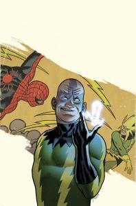 Electro updated Marvel Comics look