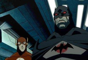 Flashpoint Flash and Batman