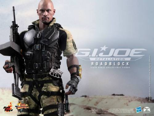 Hot Toys G.I. Joe Retaliation Roadblock horizontal