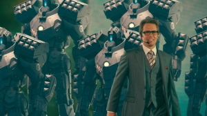 Iron Man 2 Sam Rockwell as Justin Hammer