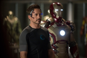 Zade Rosenthal/Marvel Studios Tony Stark/Iron Man (Robert Downey Jr.) with his new suit.