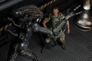 NECA Aliens Hudson scared