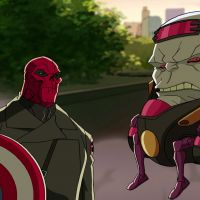 Red Skull and M.O.D.O.K.