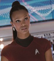 Star Trek 2009 Zoe Saldana as Uhura