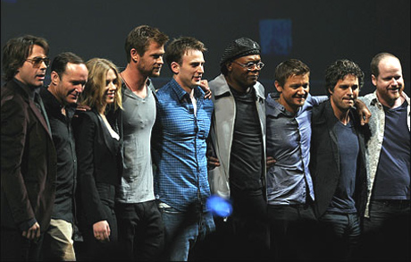 "Robert Downey Jr. is leading the effort to get his fellow ""Avengers"" cast mates a better payday."