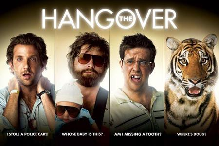 The Hangover teaser poster