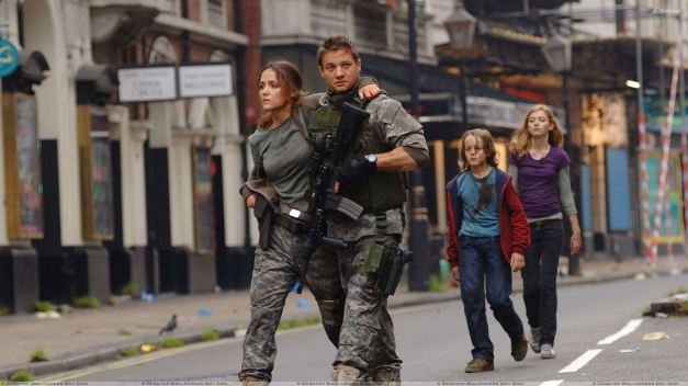 28 Weeks Later - Rose Byrne, Jeremy Renner, Imogen Poots And Mackintosh Muggleton