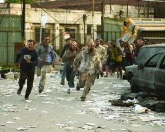 Dawn of the Dead 2004 zombies running