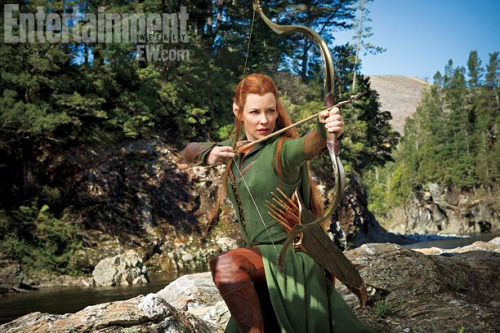 Credit: EW.com Evangeline Lilly as Tauriel
