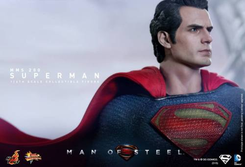 Hot Toys Man of Steel Superman cape